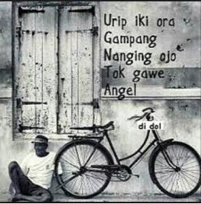 Urip_Iki_Ora_Gampang